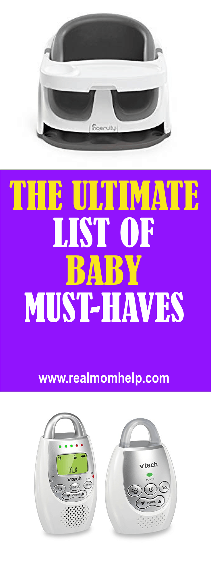 must haves with baby