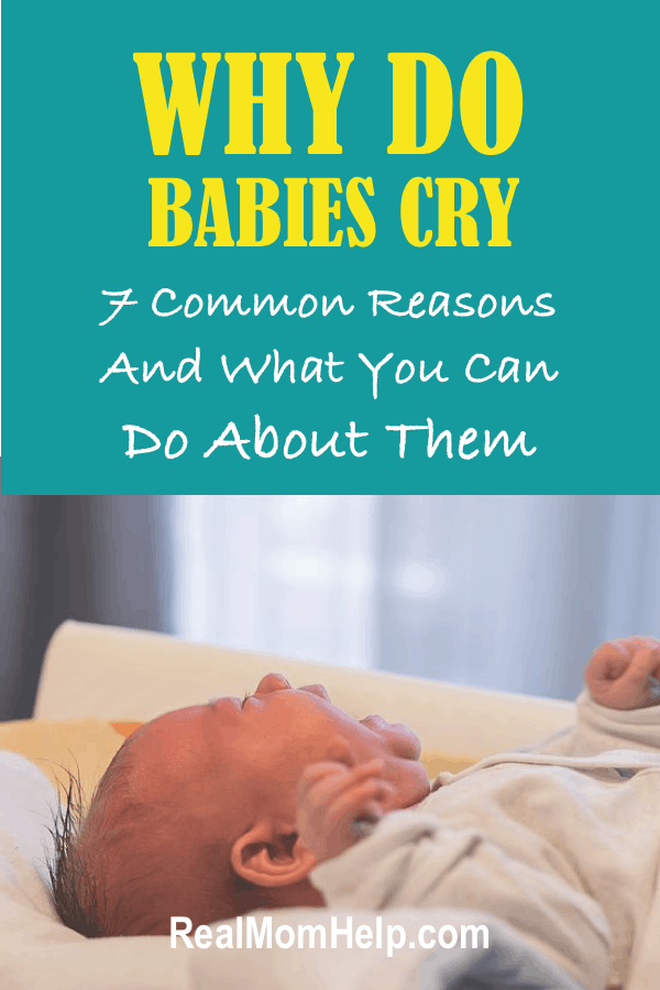 Why do babies cry and how to calm a crying baby.