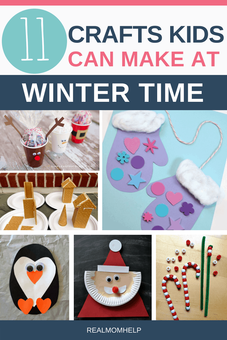 pictures of different winter crafts for kids