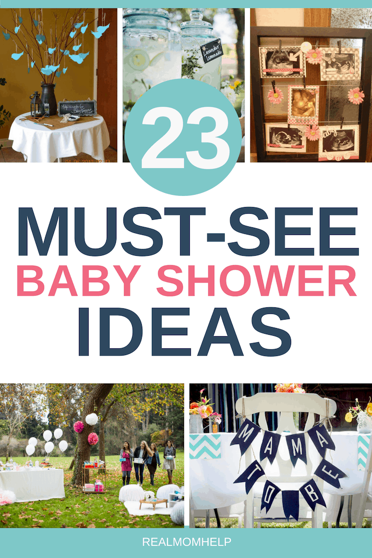 baby shower ideas, decorations, food and games