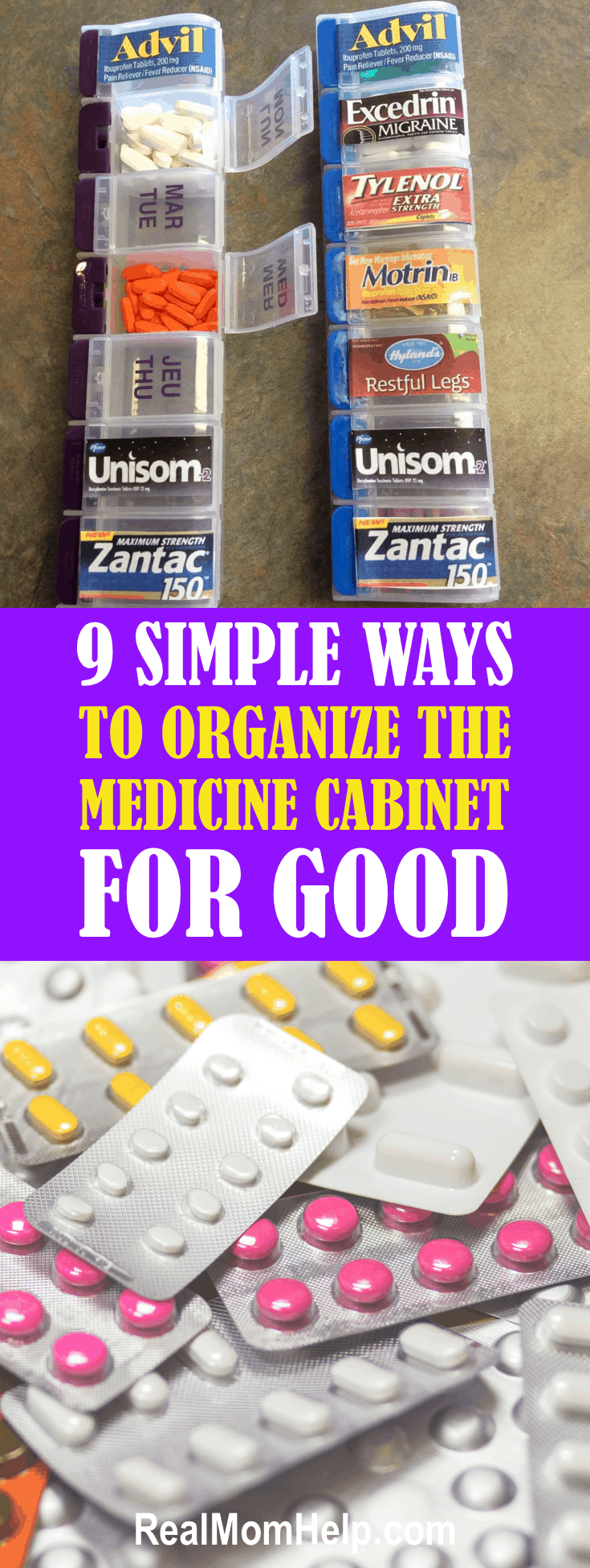 9 Simple Ways To Organize The Medicine Cabinet For Good