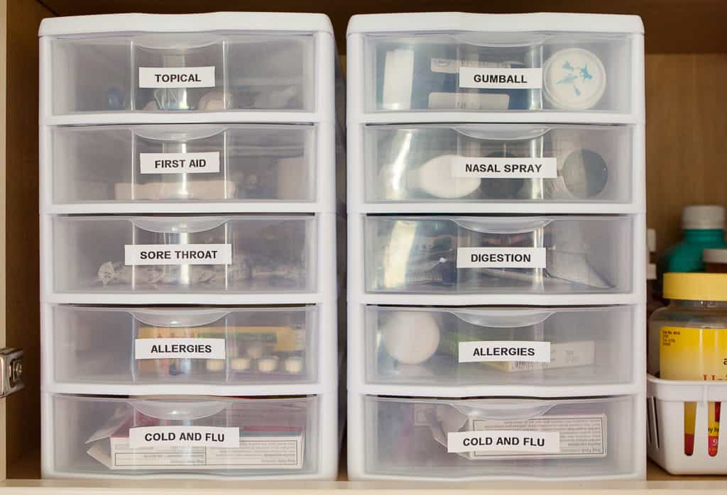9 Smart Ways To Organize The Medicine Cabinet Like A Pro