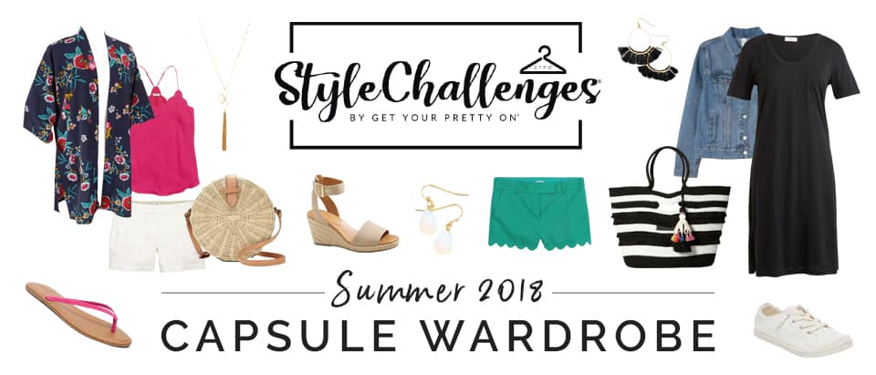 Build a summer capsule wardrobe to update your mom style.