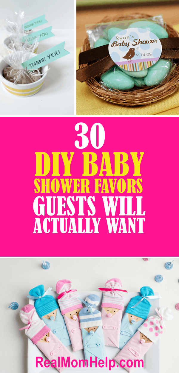 Baby Shower Favors Discount 30 diy baby shower favors guests will actually want