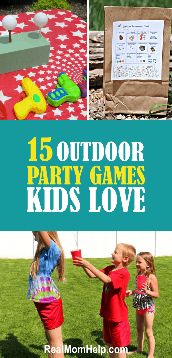 party games kids, birthday party, sumer fun