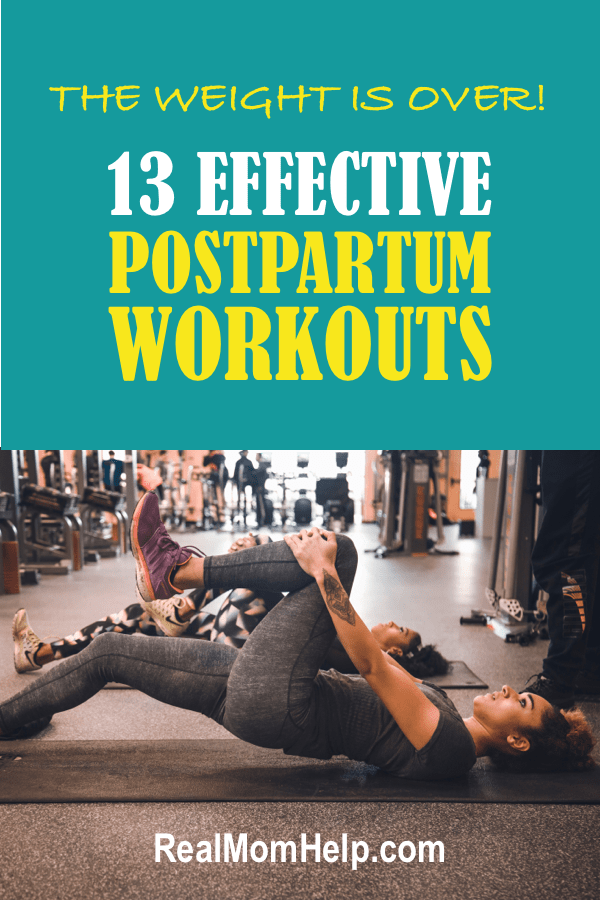 lose the baby weight with these effective postpartum workouts for new moms